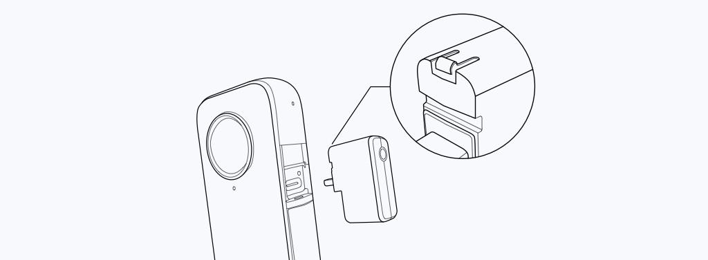 Montaż adapteru mikrofonowego do kamery sportowej