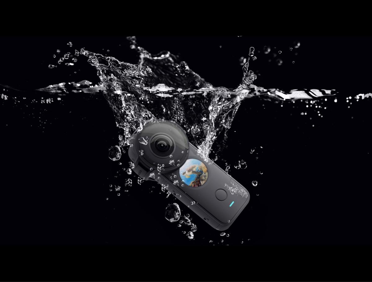 Kamera pod wodą.