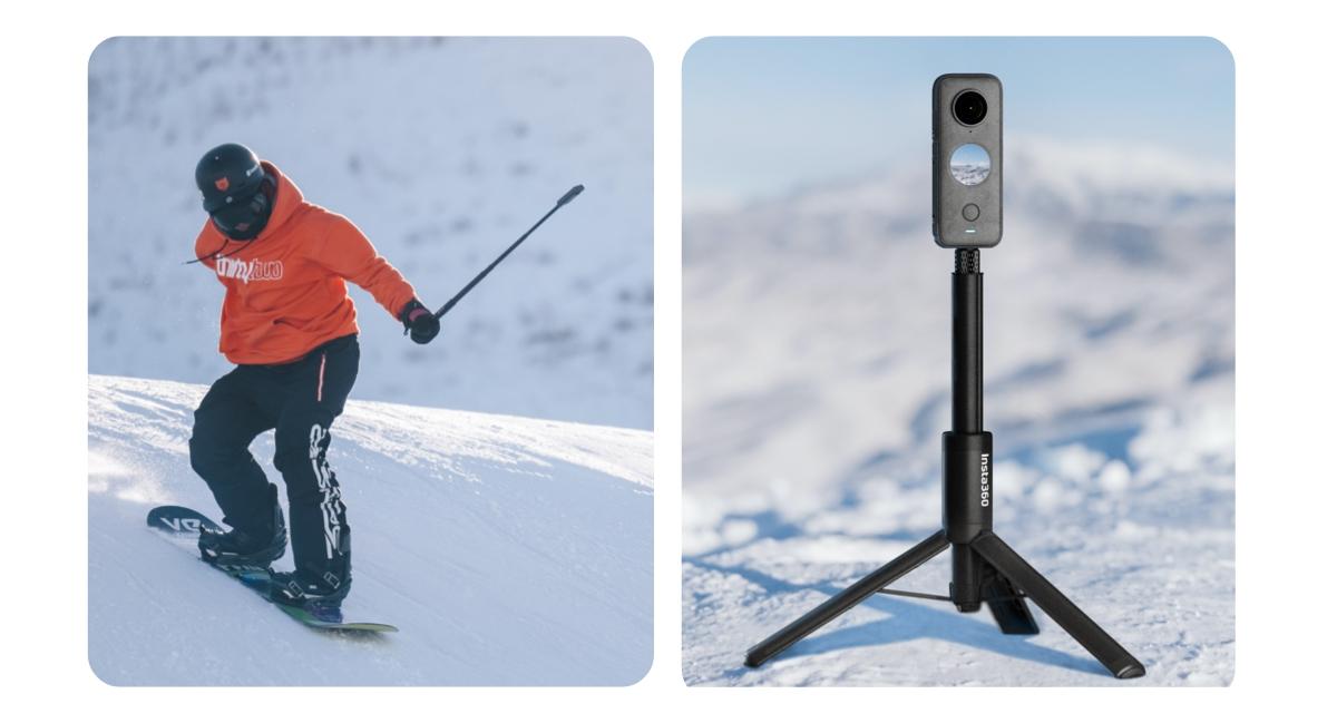 Kijek dwa w jednym selfie stick i tripod