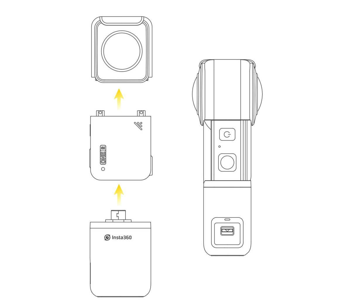 Opis obudowy wodoodpornej dla kamery sportowej.